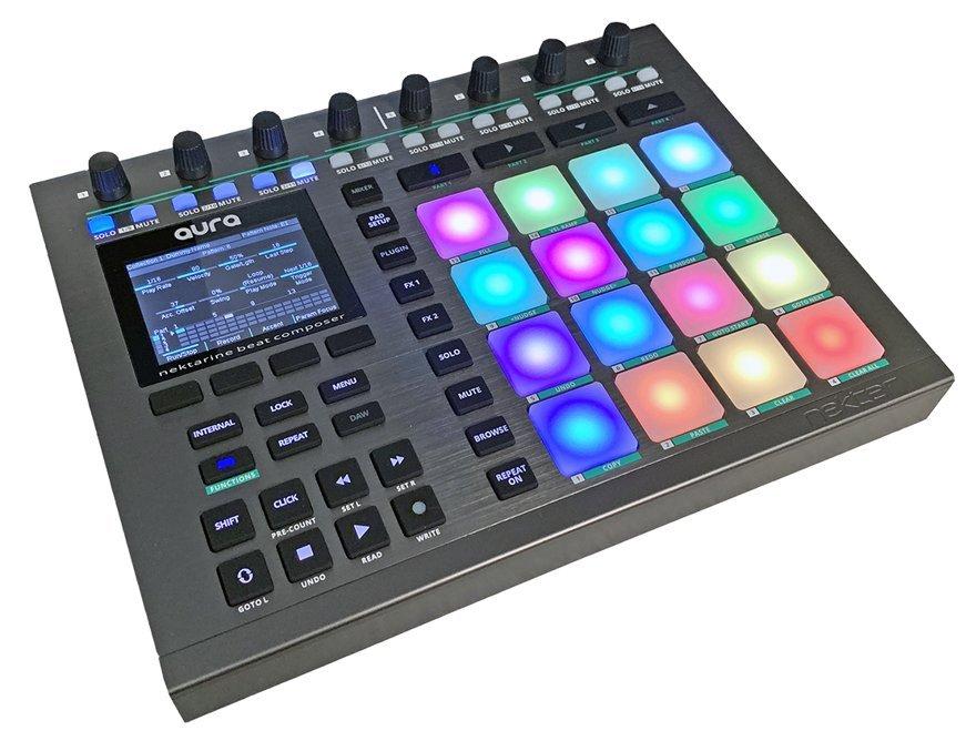 NAMM 2020 - Nektar Aura Beat Composer
