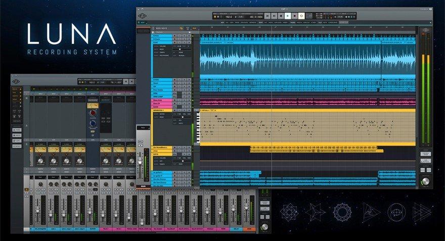NAMM 2020 - Universal Audio Luna DAW