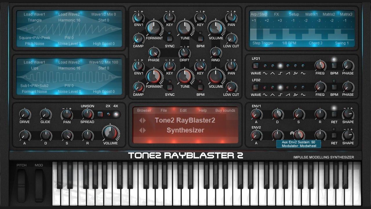 Tone2 RayBlaster 2 VST