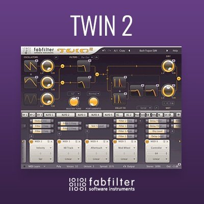 FabFilter Twin 2 Synth VST Plugin