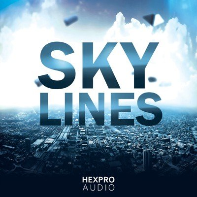 HexPro Audio - SkyLines - 5 Chill Trap Kits