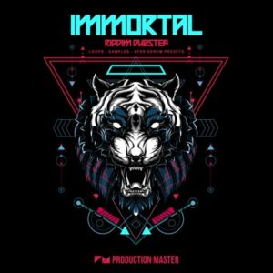 Immortal - Riddim Dubstep Loops, Serum Presets
