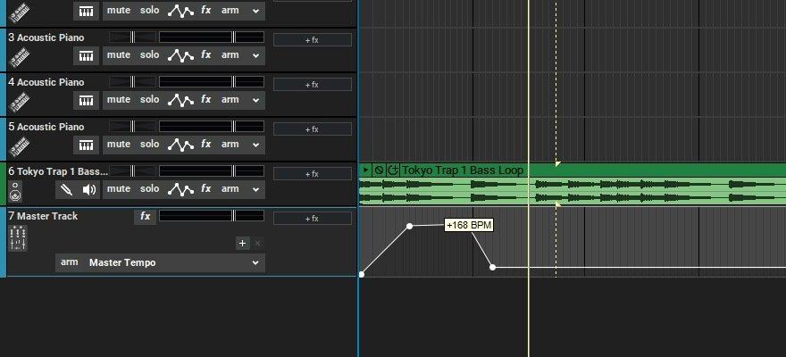 Mixcrtaft 9 Tempo Automation