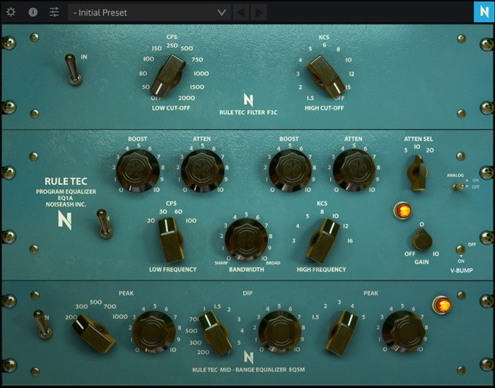 NoiseAsh - Rule Tec Heritage PRO VST Plugin