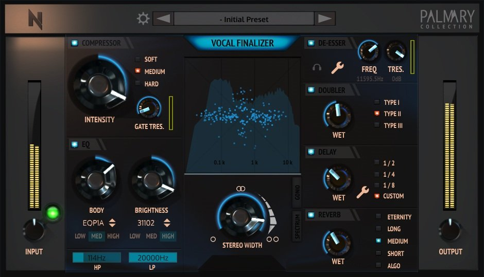 Vocal Finalizer - Vocal VST Mastering Plugin