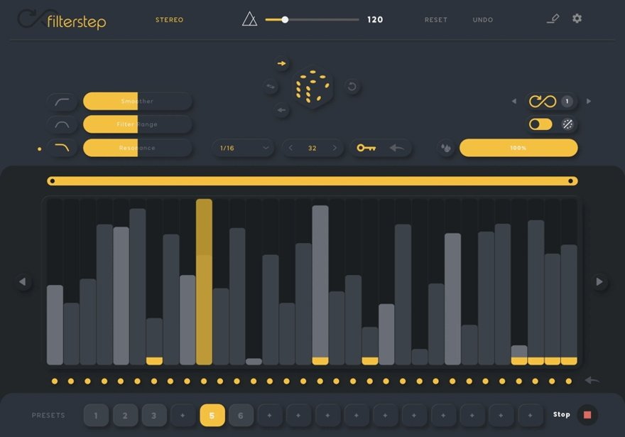 Audiomodern Filterstep Free VST Filter Plugin