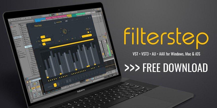 Audiomodern Filterstep Free Plugin VST AU iPad