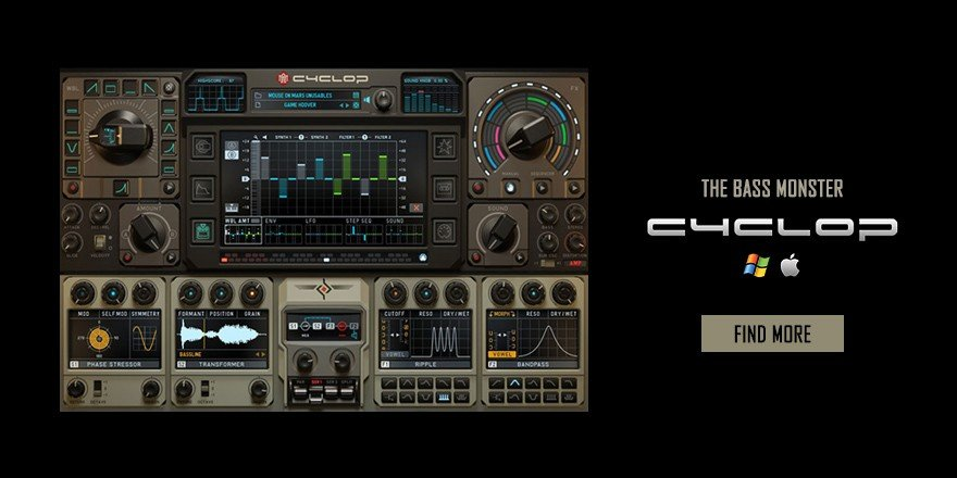 Cyclop Bass Synthesizer VST Plugin