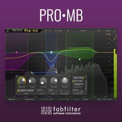 Fabfilter Pro-MB Multi-Band Compressor VST