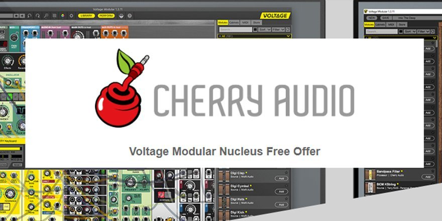 Free Voltage Modular Nucleus by Cherry Audio