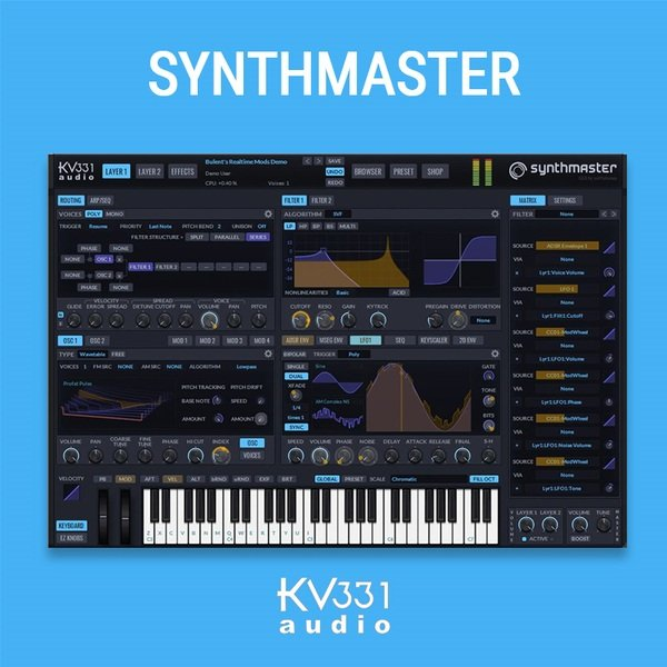 KV331 Synthmaster 2.9 VST Plugin