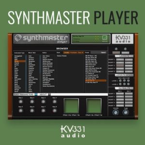 KV331 Synthmaster Player VST Synthesizer Plugin