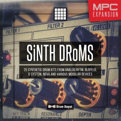 SiNTH DRoMS – 25 MPC Expansion MPC Drum Kit
