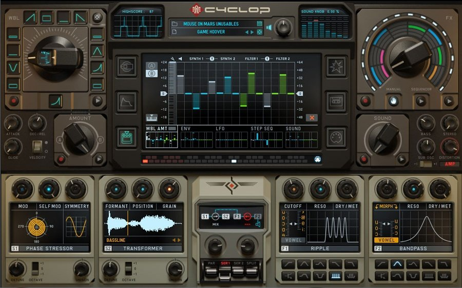 Sugar Bytes Cyclop VST Plugin