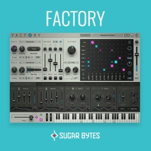 Sugar Bytes Factory Synth VST Plugin