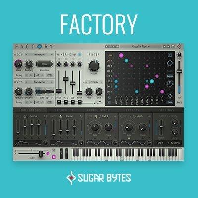Sugar Bytes Factory Synth VST Plugin