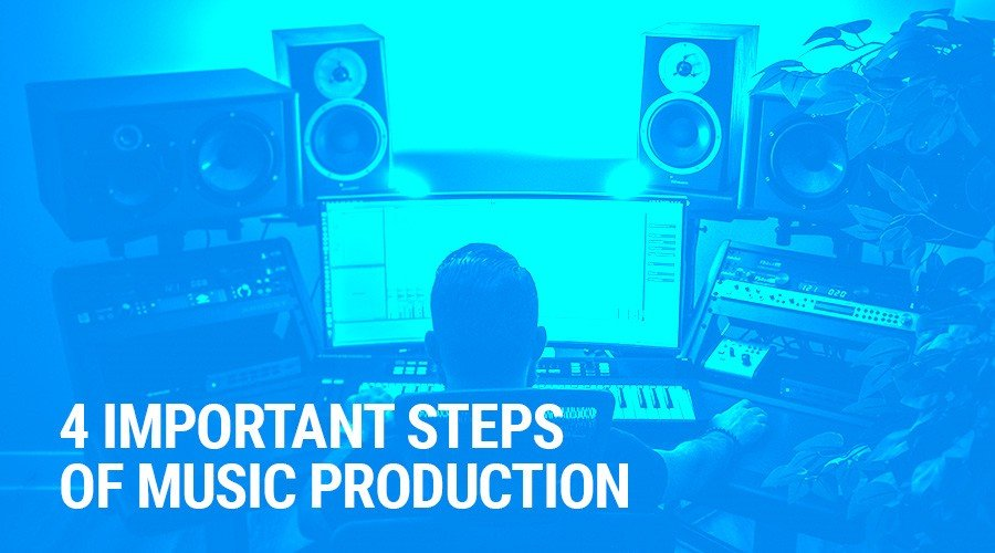 4 Important Steps of Music Production