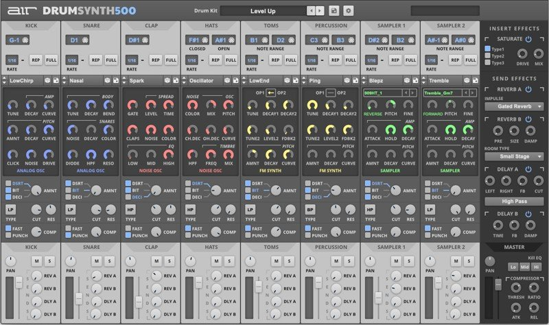 AIR Music Drumsynth500 VST Plugin