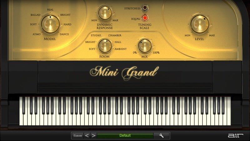 AIR Music Mini Grand Piano VST