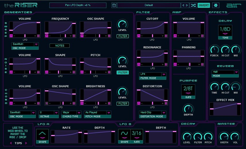AIR Music - The Riser VST Synthesizer