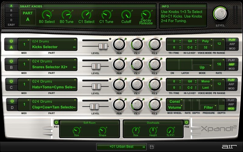 AIR Music Xpand! 2 VST Synth Plugin