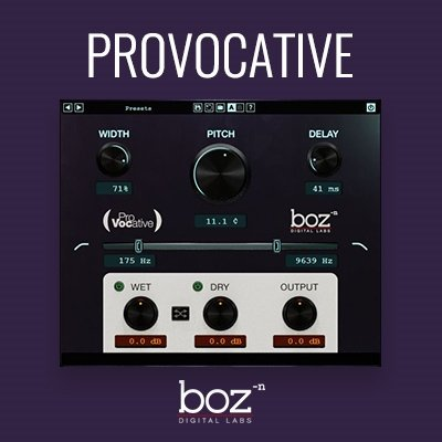 BOZ Digital - ProVocative Vocal VST Plugin