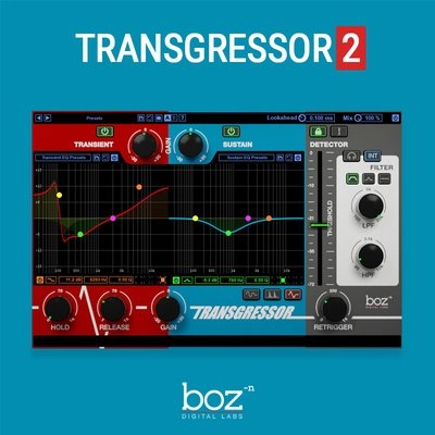Boz Digital Labs - Transgressor 2 VST Plugin