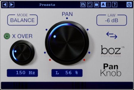 Boz Digital - Pan Knob Plugin