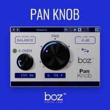 Boz Digital Pan Knob Stereo VST Plugin