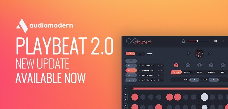 Audiomodern Playbeat 2.0 New Update