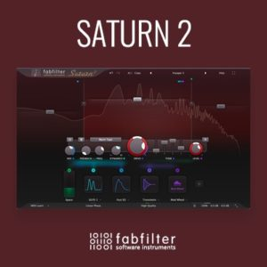 Fabfilter Saturn 2 Distortion Saturation Plug-in