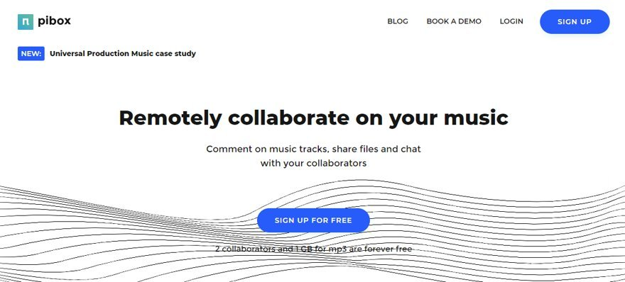 Pibox Collaborate On Your Music Website