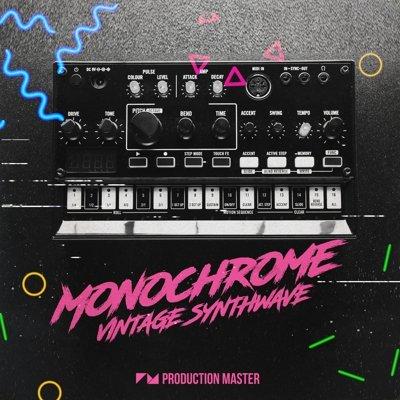 Production Master - Monochrome Vintage Synthwave