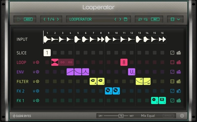 Sugar Bytes Looperator VST