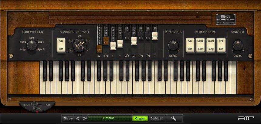 AIR Music - DB-33 Organ VST Plugin