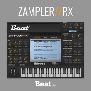 Beat.de Zampler Free VST Sampler Plugin