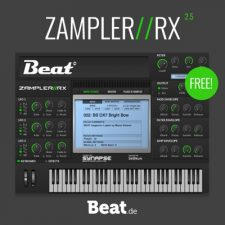 Beat.de Zampler RX 2.5 VST Free Download