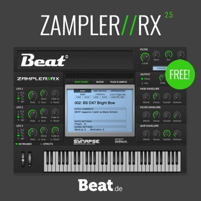 Beat.de Zampler RX 2.5 VST Free Download