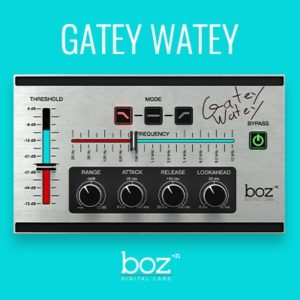 Boz Digital - Gatey Watey VST Plugin