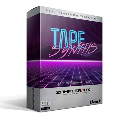 Zampler RX Bank - Tape Synths Synthwave