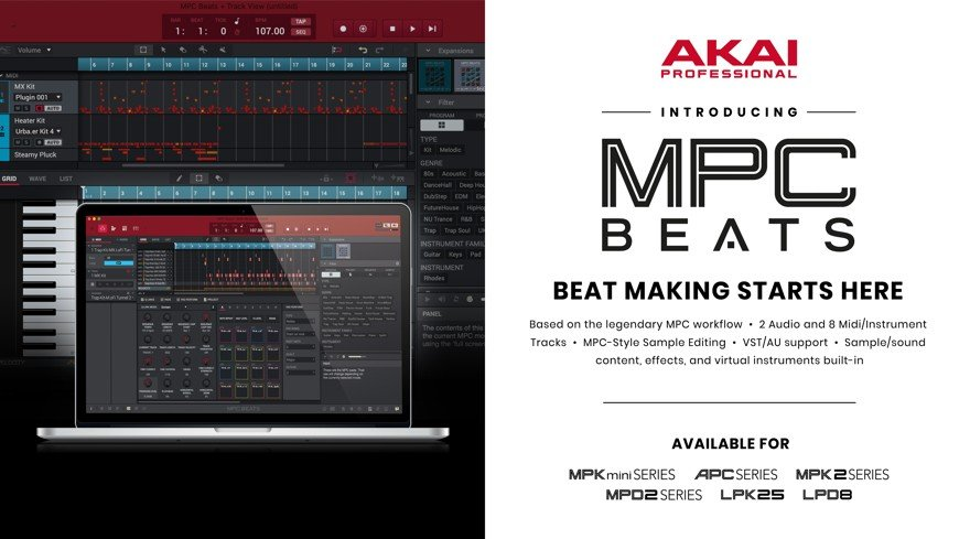 AKAI Free MPC Beats Software