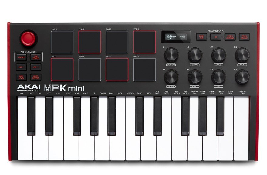 AKAI MPK - mini mk3 USB MIDI Keyboard
