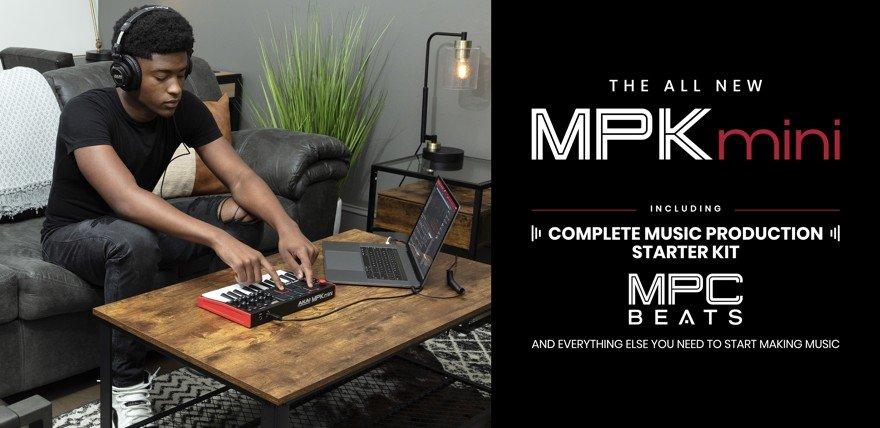 AKAI MPKmini mk3 USB MIDI Keyboard