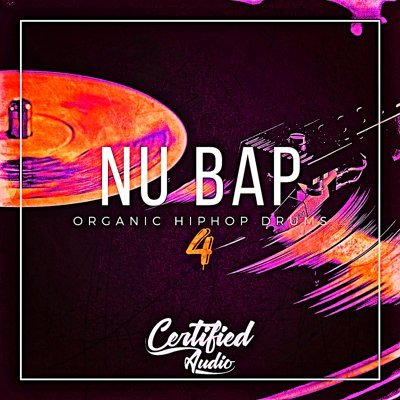 Nu Bap Organic Hip Hop Drums 4 Drum Kits