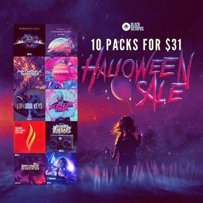 Black Octopus Sound - Halloween Bundle Sale