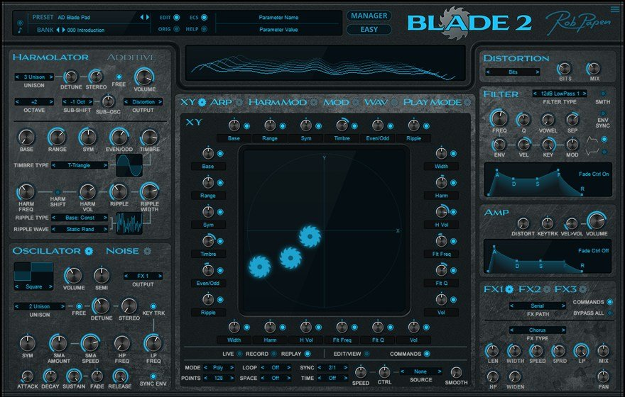 Blade 2 Rob Papen Synthesizer Plugin