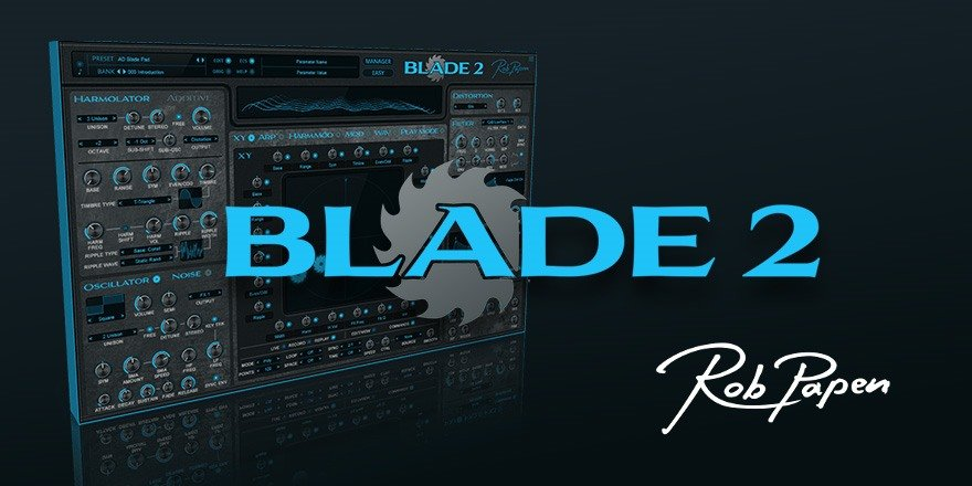 Blade 2 Rob Papen Synthesizer VST Plugin