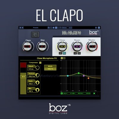 Boz Digital - El Clapo Clap VST Plugin