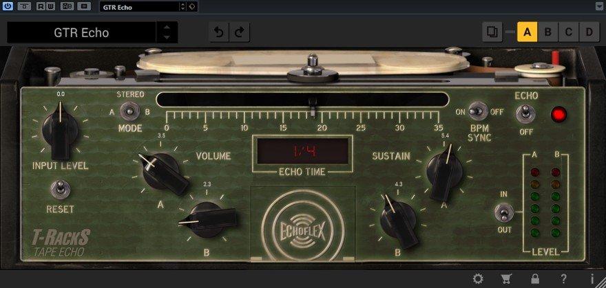IK Multimedia Tape Echo Plugin