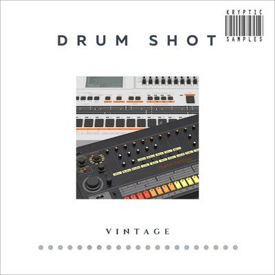 Kryptic Samples - Drum Shot Vintage Samples